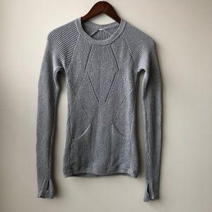 Lululemon The Sweater The Better Gray Sweater